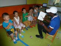幼儿园大班语言活动说课稿《彩色的雨》