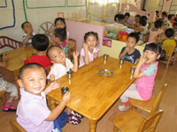 幼儿园教育笔记:老师,早上好!