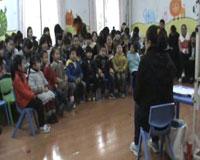 大班语言散文活动说课《跳舞的小露珠》