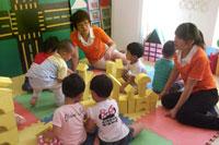 采用模仿疗法矫正幼儿退缩行为的实施案例