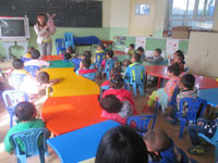 幼儿园教育笔记:幼儿的常规培养