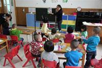 幼儿园教育笔记:谢谢你的小红花