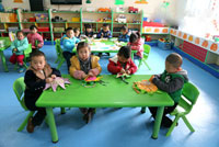 幼儿教育随笔:陪孩子们的最后一次秋游