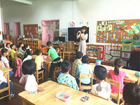 幼儿园教育笔记:表演让孩子更自信