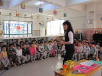 幼儿园大班音乐说课稿《迷路的小花鸭》