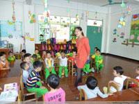 幼儿园教育笔记:涵涵的变化