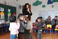 幼儿园第二学期期末大班评语
