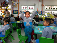 2017年幼儿园小班秋季学期班务工作计划范文