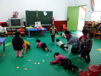 幼儿园中二班保教工作计划